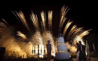 o nunta cu artificii