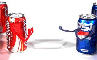 cola versus pepsi